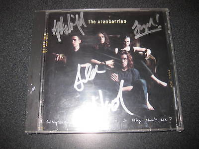 THE CRANBERRIES SIGNED CD DELORES O'RIORDAN and WHOLE BAND W/ COA