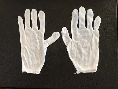 COIN GLOVES-Lot Of 11 Pairs Of White New