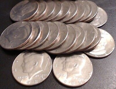 1986 P & D Set of Kennedy Half Dollars ~ 2 Coin Lot ~ FREE Shipping!