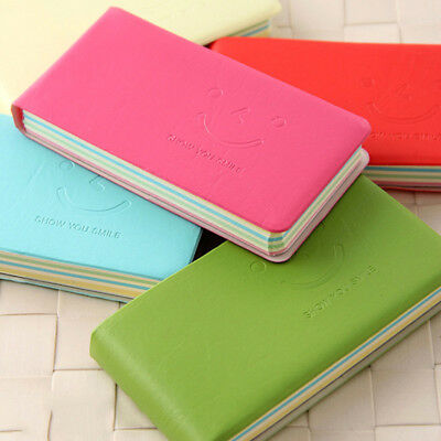 Candy Colors  Notepad Smiling face Notebook Diary Notebook  6 Colours