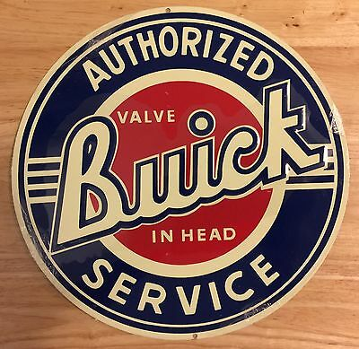 BUICK ANDE ROONEY ADVERTISING WALL SIGN Sealed