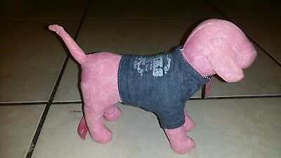 2006 Pink Graffiti VICTORIA'S SECRET PINK Collectible Dog w/86 Tour Shirt/ID Tag