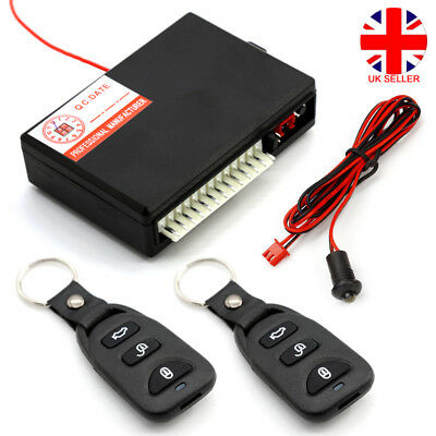 Universal Car Central Kit Door Locking Keyless Entry System Remote Control L4U
