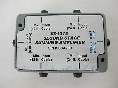 XD1312 Second Stage Summing Amplifier Microphone Amp