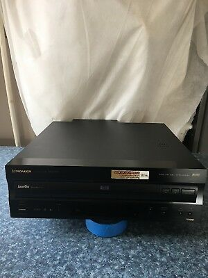 Pioneer DVL-909 CD-LD Player Working VGC No Remote Read !