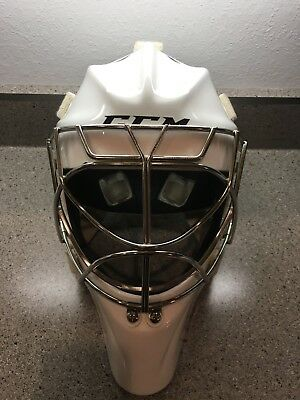 CCM Pro2 Goalie Mask Helmet Size M  Ice Hockey Cat Eye Cage
