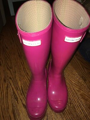 Used HUNTER BOOTS - US 5 EUR 36 Rain Boot Wellies