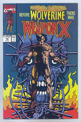 Marvel Comics Presents #72 VF Barry Smith, Weapon X Begins, Wolverine