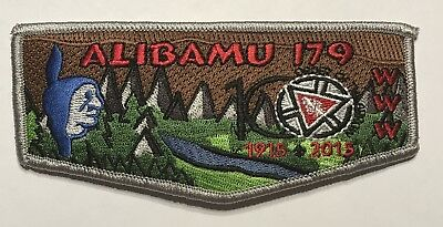 OA Lodge 179 Alibamu 2015 Centennial Flap Mint CF7