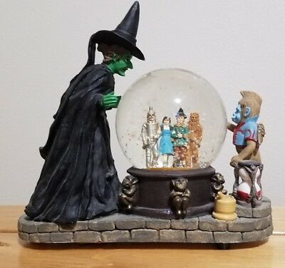 1995 Wizard of Oz Musical Waterglobe - Wicked Witch Crystal Ball - MINT