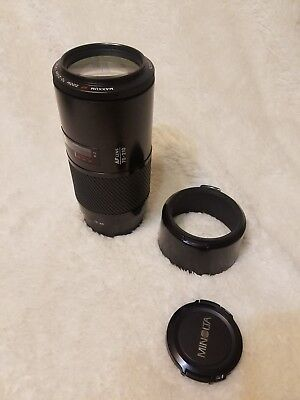 Minolta Maxxum AF Zoom Lens 70-210mm f/4, Sony SLR A-Mount Beercan Free Shi