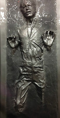 Life Size Han Solo Frozen in Carbonite - Star Wars - Empire Strikes Back
