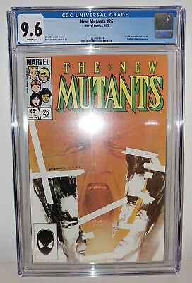 New Mutants #26 - CGC 9.6 White Pages - 1st (Full) Legion Appearance