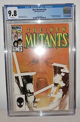 New Mutants #26 - CGC 9.8 White Pages - 1st (Full) Legion Appearance