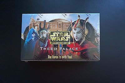 NEW Star Wars CCG Theed Palace Limited Edition Booster Box Decipher SEALED MINT