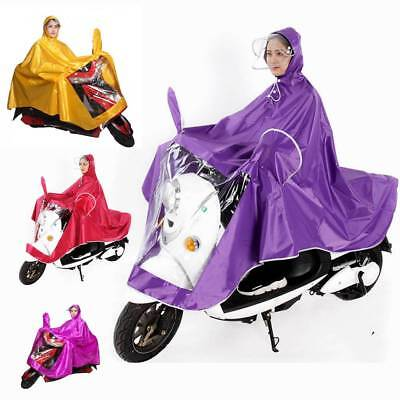 Rainproof Cycling Bicycle Raincoat Rain Cape Poncho Cloth Gear For Motorcycles