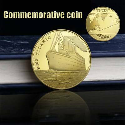The Voyage Titanic RMS Commemorative Challenge Coin Souvenir Collection Gift