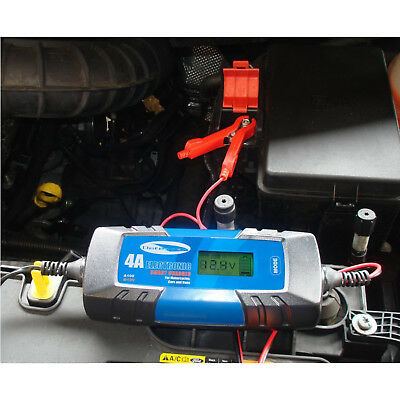Car Motorcycle Battery Optimiser Charger Maintainer 6V 12V Automatic Detection