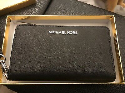 Michael Kors Black Leather Purse New In Box