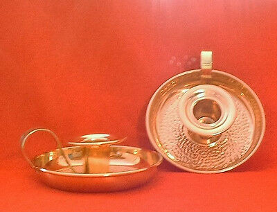 """A Pair Of Vintage """"coppercraft Guild"""" Candle Holders  W/original Boxes"""