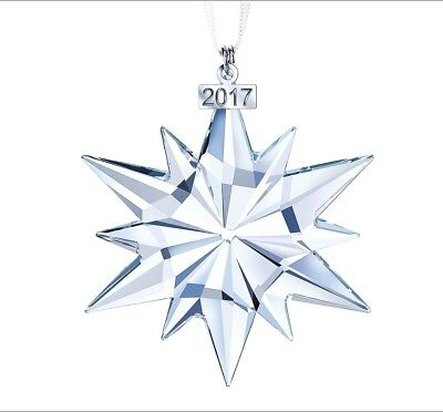 NEW 2017 SWAROVSKI Annual Edition Large Christmas Ornament Crystal #5257589 NIB