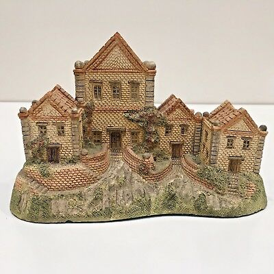"Handcrafted 1984 Signed ""AIMS HOUSE"" by David Winter of Hines Studios England"