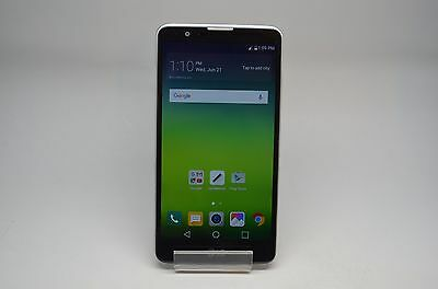 LG Stylo 2 - 16GB - Silver (Ting/Freedom Pop) Smartphone Great Condition! 4G
