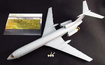Detailing set for aircraft model Airbus Tu-154  1/144 Metallic Details 14402