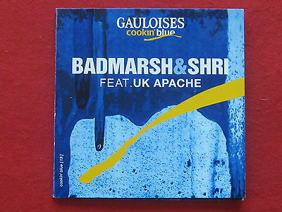 GAULOISES - Cookin' Blue - CD - Badmarsh & Shri feat. UK Apache