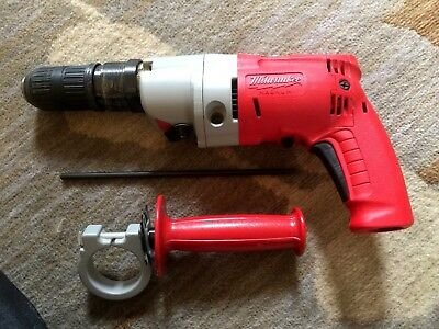 Milwaukee Heavy Duty Magnum Hammer Drill 5376-6 Power Tool AWESOME