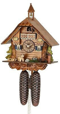 Hekas 881 Cuckoo Clock.. New! (Authentic German/black Forest)