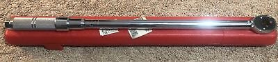 """Proto 6014C Micrometer Torque Wrench 50 to 250 ft/lb 1/2"""" Drive"""