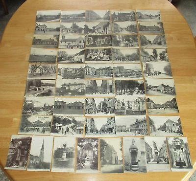 LOT of 48 VINTAGE Antique Early 1900s France REAL PHOTO POSTCARD RPPC