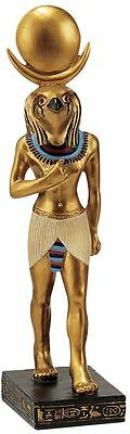 """8.5"""" The Gods of Ancient Egypt Sculpture Collection: Horus Falcon God of Order"""