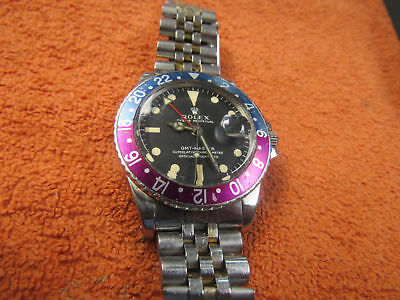1969 Rolex (Gmt-Master) Oster Perpetual Chronometer