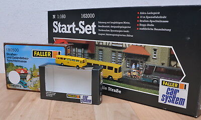 Faller 162000 Car System Start-Set mit Post-Bus / unbespielt / OVP / Spur N