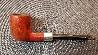 Pfeife pipa pipe DUNHILL Bruyere , Made in England , 925'er Silberring