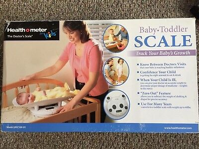 Health O Meter 2-in-1 Baby To Toddler Scale