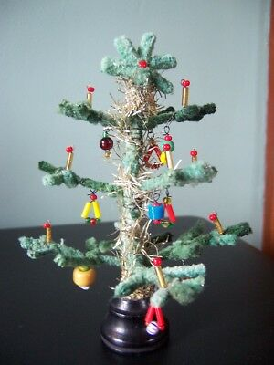 Vintage German Chenille Christmas Tree