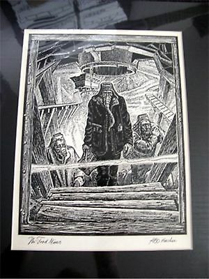 KELLY FREAS HEE CHEE # 66b PRELIMINARY DRAWING GATEWAY TRIP FREDERIK POHL