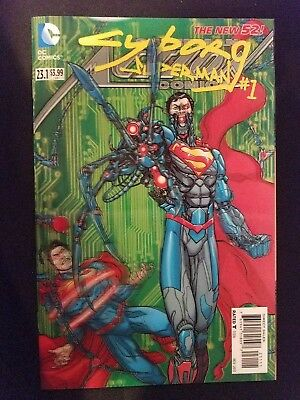 DC Action Comics, Vol. 2 # 23.1 (1st Print) Cyborg Superman 3D Motion Cover