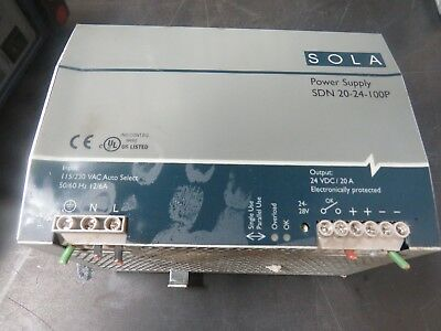 Sola Sdn 20-24-100P Power Supply