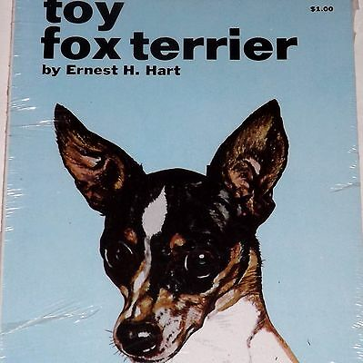 Vintage TFH Dog Book - How to Raise and Train a Toy Fox Terrier - Sealed