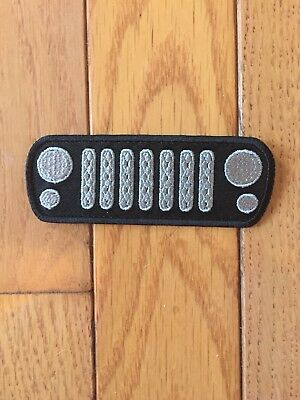 JEEP JK Grille Iron or Sew On Patch
