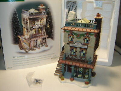 Dept 56 Dickens Village - Leed's Oyster House