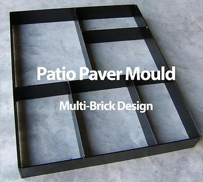 Metal Paver Maker Patio Mould  - Make Your Own Pathway