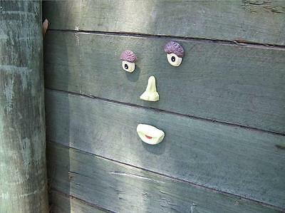 "Tree Face Mould - Garden Ornament for Trees, Fences, Walls Etc New - ""Freddie"""