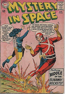 Mystery in Space 85 Aug 1963 DC Silver Age 3.0 GD/VG Carmine Infantino art