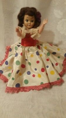 Vintage early 1950's doll, movable head/arms, Great Condition,private collection