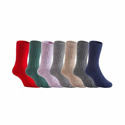 Lian LifeStyle Children 3 Pairs Wool Socks Random Color 3 Pair Boy Random Color